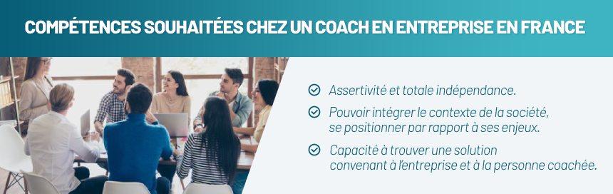 Compétences souhaitées pour un coach en entreprise en France