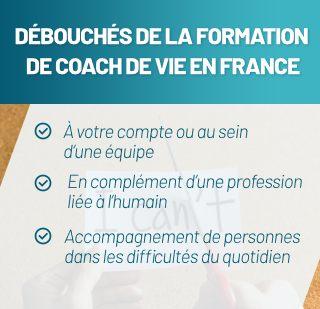 Débouchés des formations en coach de vie en France